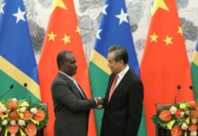 'In the national interest': Both the Solomon Islands and Kiribati ally with China