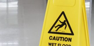 Pupil gets more than £10,000 in council compensation after tripping over a 'wet floor' sign