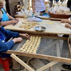 today i saw women making Orecchiette the traditional way in the streets of Bari :)
