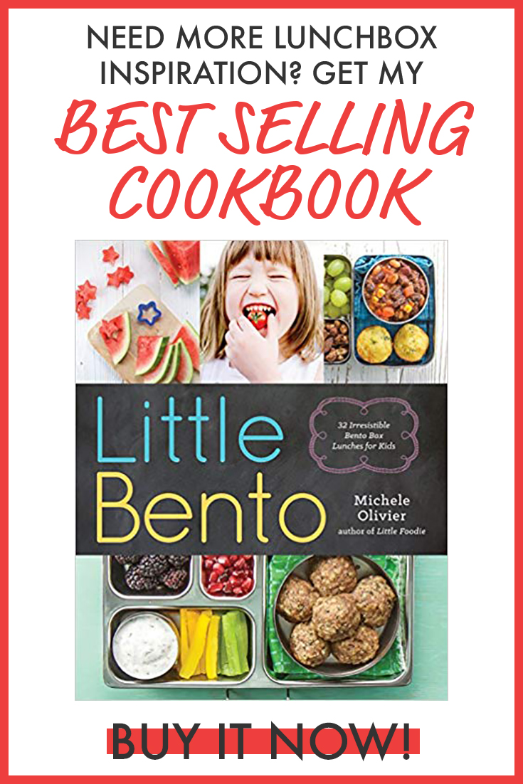 best selling cookbook graphics for Little Bento book.
