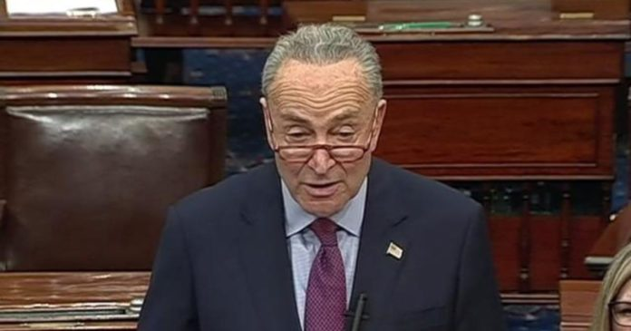 Schumer rebukes McConnell for stance on Senate impeachment trial