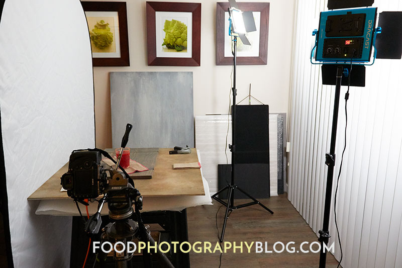 LED Panel Light For Food Photography