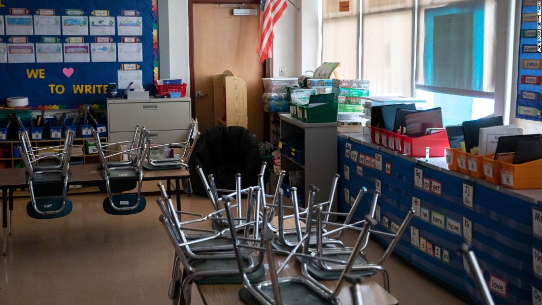 Opinion: On the first day of school, the teacher cried