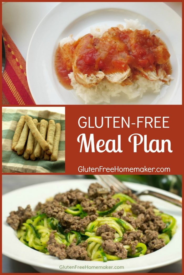 You'll find delicious, glute-free recipes for dinner, breakfast, and dessert in this week's meal plan. The bacon wrapped chicken and Mexican lasagna are sure winners with my family.