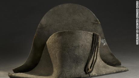 The hat Napoleon is said to have worn at the Battle of Waterloo sells for more than $400K